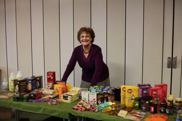 Fay at our Fairtrade stall